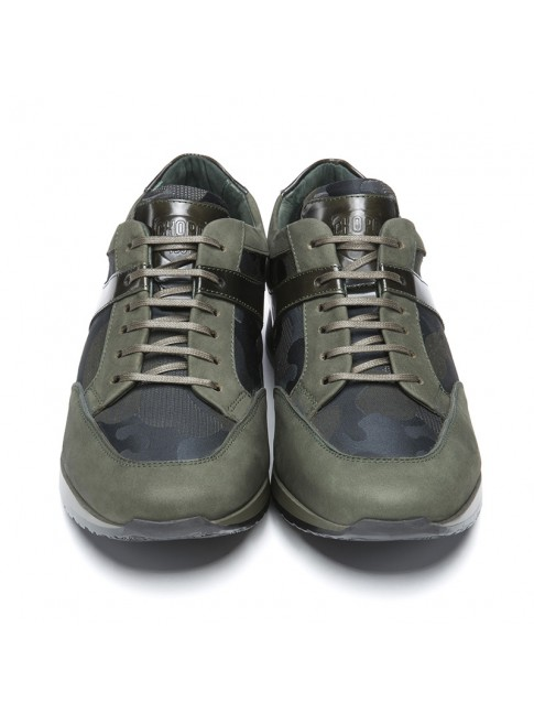 SNEAKERS NOBUCK MILIT KHAKI - MODEL 7510-T - CHOPO 1991