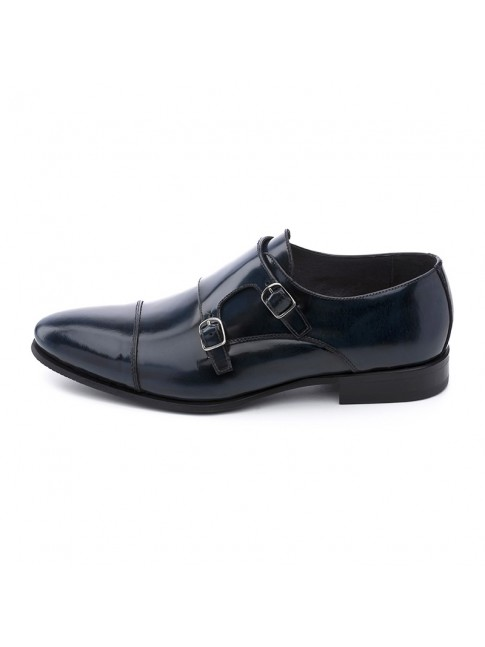 BUCKLES FAB CALF NAVY - MODEL 5809 - SERGIO SERRANO