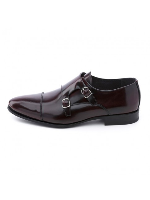 BUCKLES FAB CALF BURGUNDY - MODEL 5809 - SERGIO SERRANO