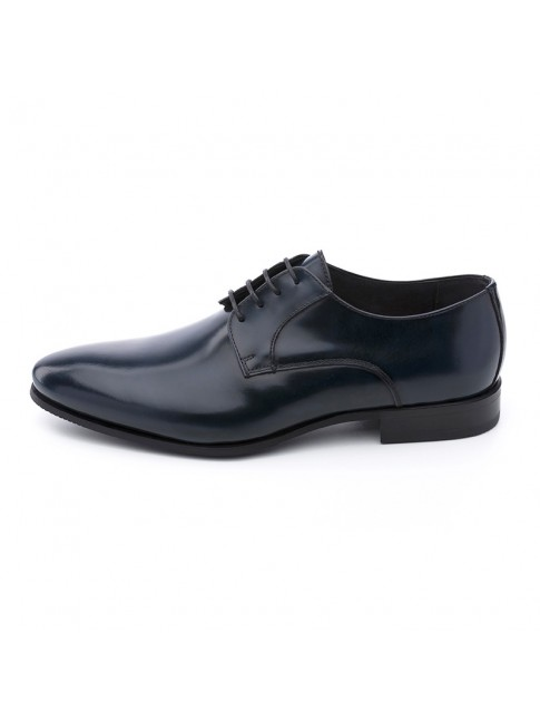 BLUCHER SMOOTH FAB CALF BLUE NAVY - MODEL 5812 - SERGIO SERRANO