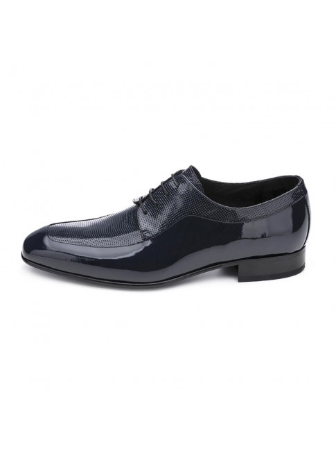 BLUCHER MICRO PUNCHED LUXORY NAVY BLUE - MODEL 2362 - SERGIO SERRANO