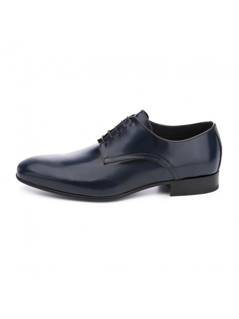 BLUCHER  SMOOTH ANTICK NAVY BLUE- MODEL 2356 - SERGIO SERRANO