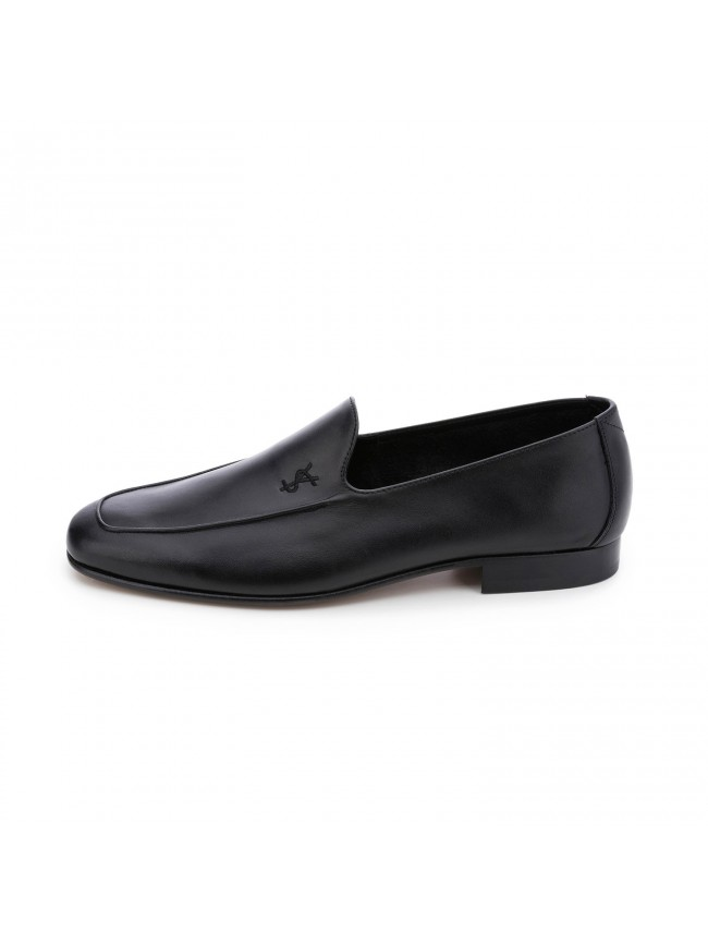 LOAFER SMOOTH LAGUNA BLACK - MODEL 1104 - SERGIO SERRANO