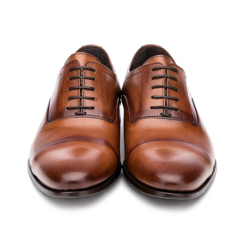 2dce084c86b717 ... oxford-shoes - OXFORD INVERTED STITCH BROWN COGNAC ...