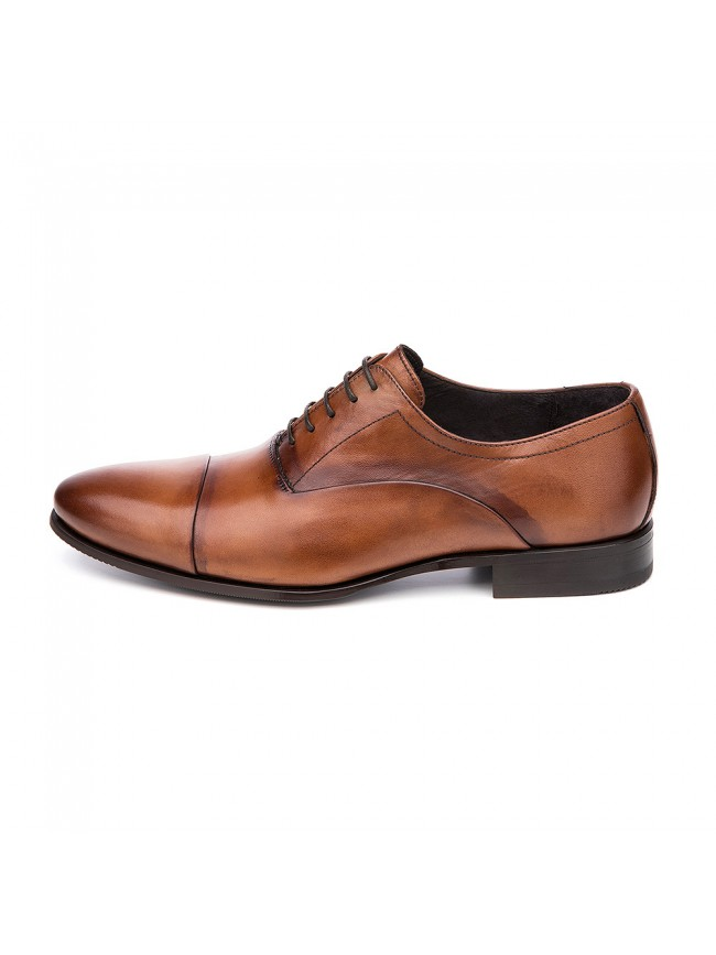 OXFORD INVERTED STITCH BROWN COGNAC - MODEL 5802 - SERGIO SERRANO