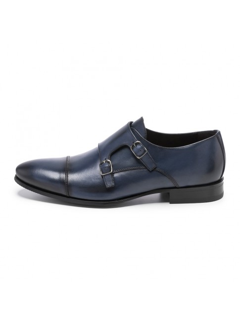 BUCKLES FAB CALF BLUE NAVY - MODEL 5809 - SERGIO SERRANO