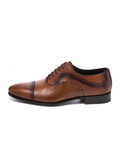 BLUCHER SMOOTH CALF LIGHT BROWN - MODEL 5815 - SERGIO SERRANO