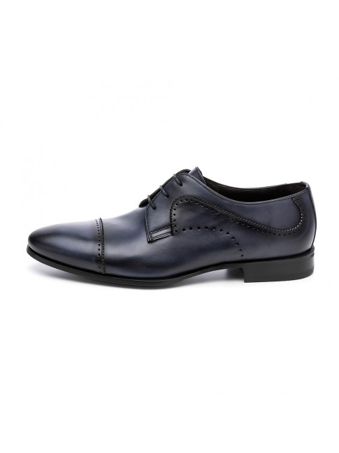 BLUCHER FAB CALF MURANO BLUE NAVY - MODEL 5816 - SERGIO SERRANO
