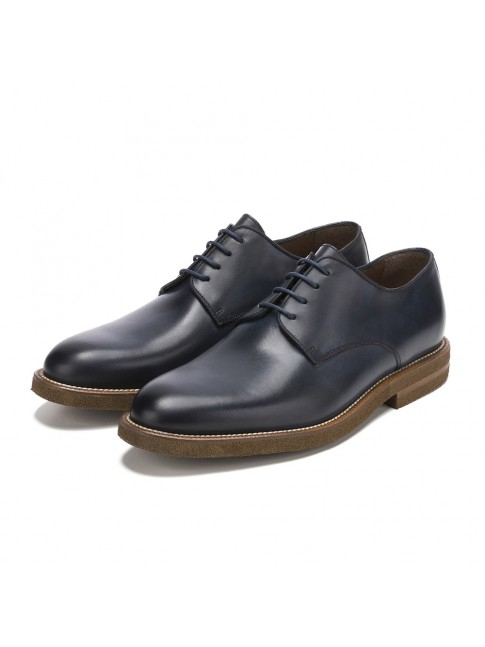 BLUCHER SMOOTH POMEZ MURANO BLUE NAVY