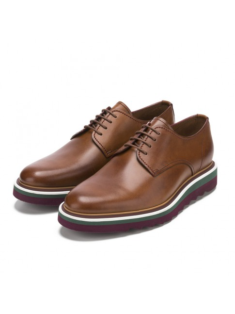 CASUAL BLUCHER SMOOTH BROWN