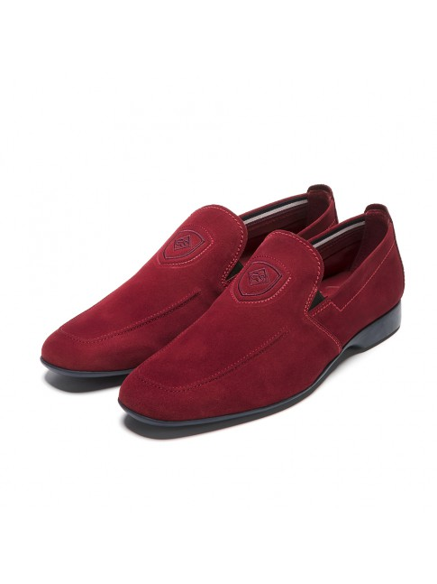 MANOLETINA LISA SUEDE ROJO