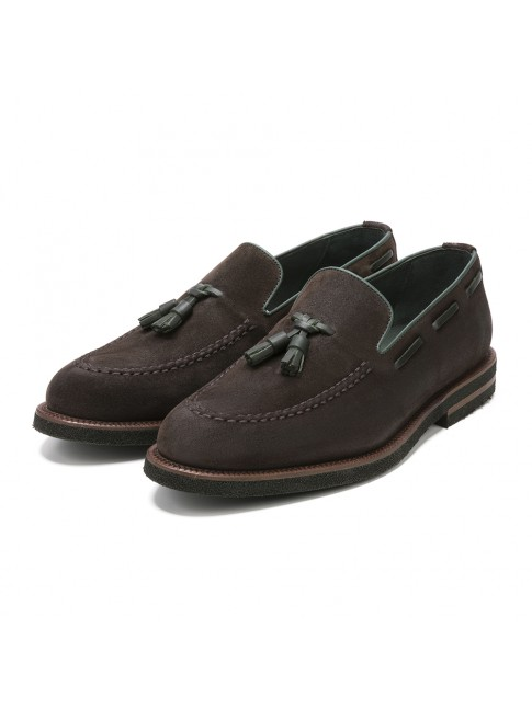 LOAFER POMEZ OIL BROWN