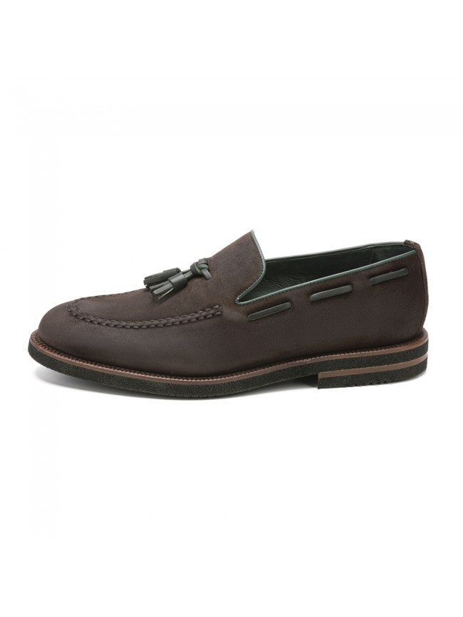 MOCASSIN POMEZ OIL MARRON