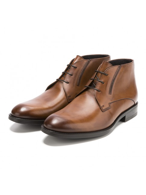 BOTTINES MURANO MARRON