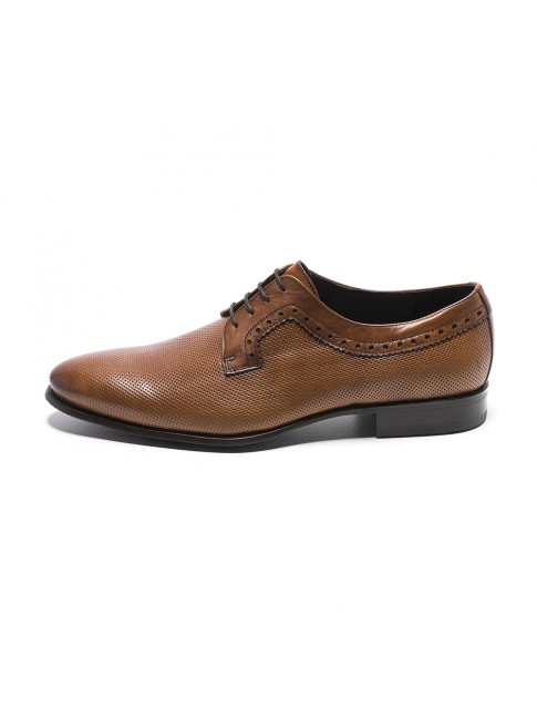 BLUCHER PERFORE MURANO MARRONE COGNAC