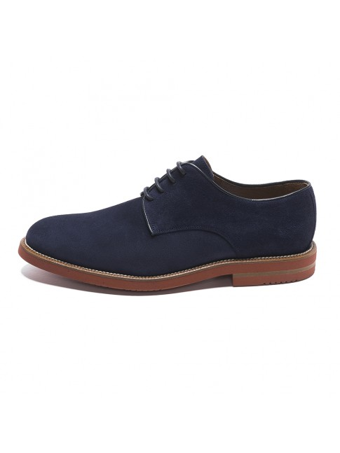 BLUCHER LISSE EVA OIL BLUE MARINE