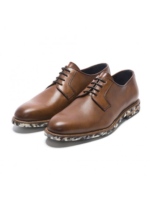 BLUCHER SMOOTH MULTI MURANO CUERO
