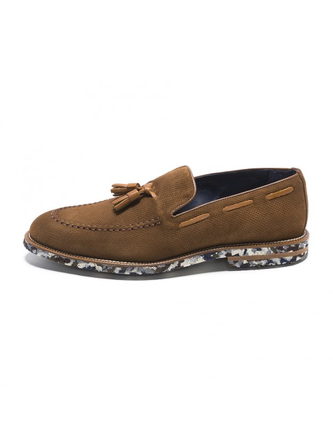 LOAFER MULTI OIL BROWN