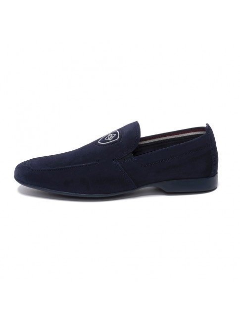 LOAFER SMOOTH SUEDE INK