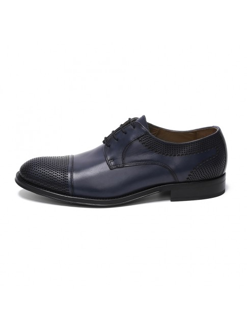 BLUCHER POINTED POINT MURANO BLU