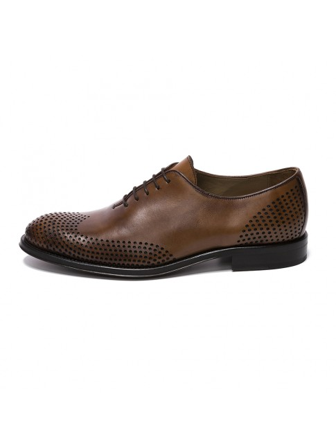 OXFORD POINTED POINT MURANO BROWN