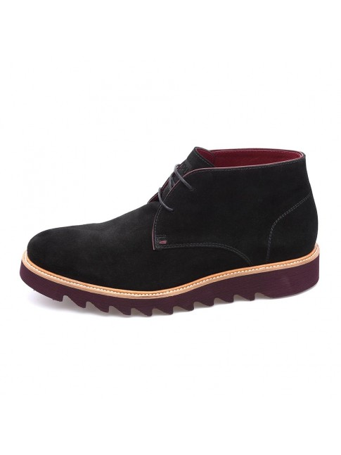 SUEDE BLACK BOOTS - MODEL 5521 - CHOPO 1991