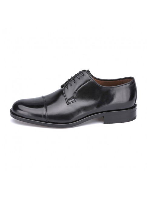 BLUCHER CAP TOE GAUCHO BLACK - MODEL 2711 - SERGIO SERRANO A10