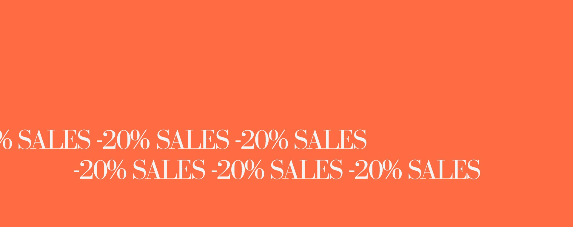 Soldes SS21 -20%